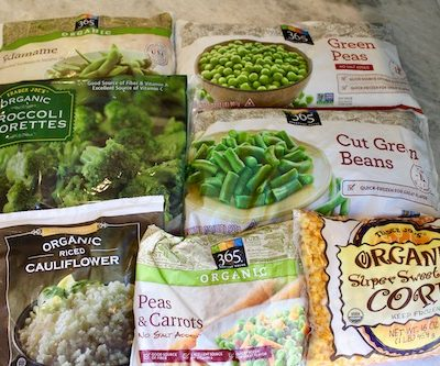your guide to Frozen veggies