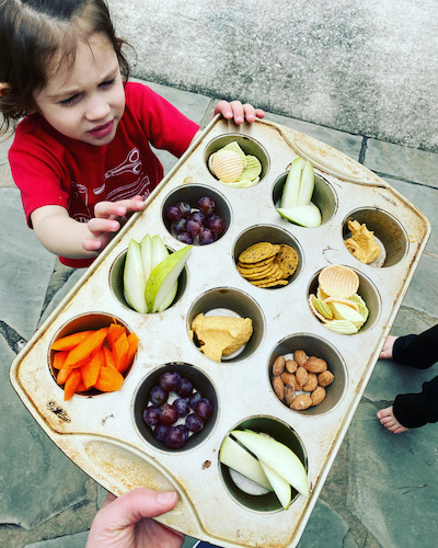 Snack tips for hungry children (They are always hungry)
