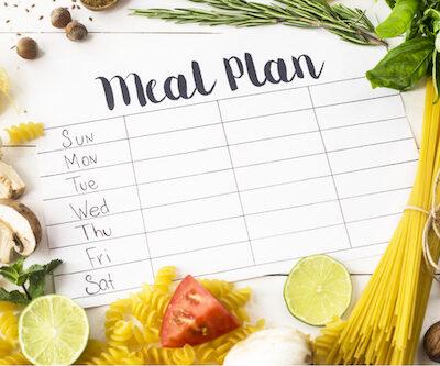 2 week healthy family meal plan